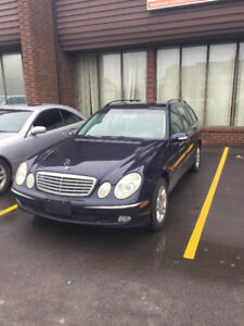 2006 Mercedes benz E320 4 matic station wagon