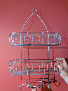 Modern-Retro Shower Caddy