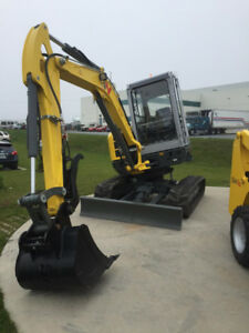 Excavator - 5.3 Ton Wacker Neuson FOR SALE