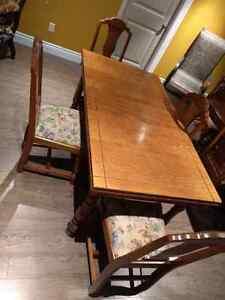 Antique table set, moving sale!!! St. John's Newfoundland image 3