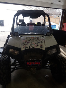 Packagedeal 2014 rzr eps le , 2010 rzr s and Trailer