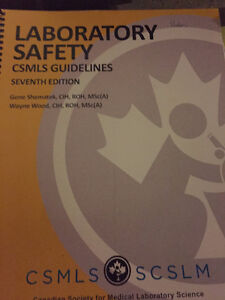 laboratory safety CSMLS Guielines (seventh edition )