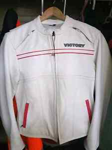 Ladies Victory Leather Riding Jacket