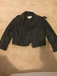 Boys H&M faux leather jacket 3-4 years $10
