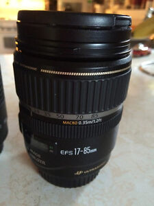 Canon T5 Camera with 3 lenses 1yr old