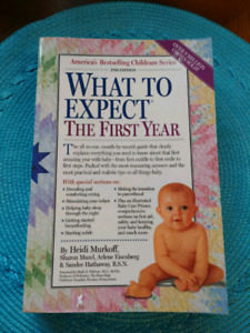 What to expect, the first year baby book $5