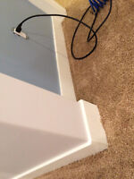 Baseboards, Casing and all trims installations and Caulking, Als