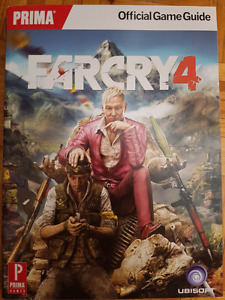 FarCry 4 video game guide for Xbox One, 360 and PC
