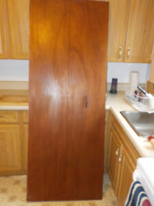Bifold closet doors 77x30in and 77x24in GOOD condition