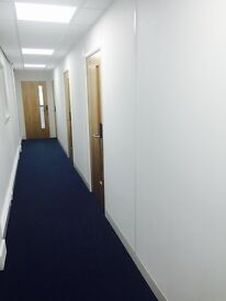 *Modern, clean & bright serviced office space*