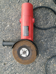 """Angle grinder 4-1/2"""" and Air Impact Wrench 1/2"""""""