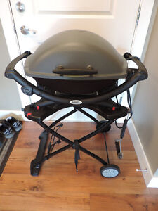 Weber Electric BBQ & custom stand