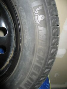 Set of (4) Tires & Rims - Michelin X-Ice Xi3 - Size 235/55 R17