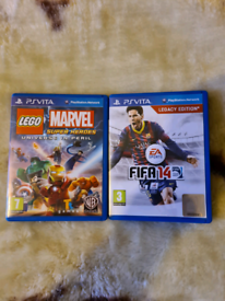 2x ps vita games Both boxed / both different prices
