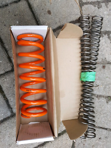 Front and rear KTM 144 suspension Springs
