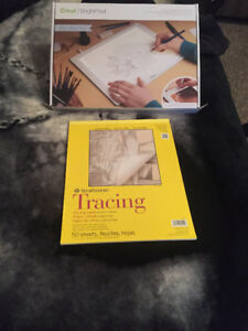 Cricut bright pad for tracing, weeding vinyl and more