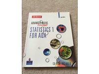 A level maths stats guide