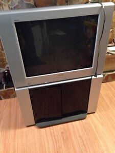 "30"" Sony TV, with stand"