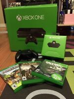 500 GB Xbox One with Stereo Headset Adapter