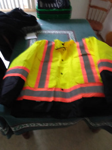 New xxl construction 3 in 1 jacket.