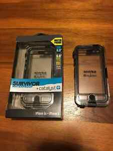 Two Waterproof Catalyst Iphone 5 or 5s Cases