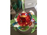 Fisherprice jumparoo, only bought in January. £40. Smoke free house.