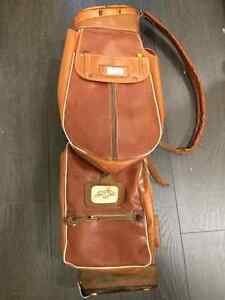 Vintage Leather Cliffco Golf Bag - Made in England **very rare