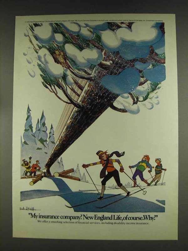 1978 New England Life Insurance Ad - My Company?