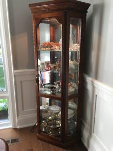 Curio Cabinet For Sale