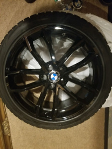 Bmw 5 series G 30 19 inch  rims and winter tires 2017- 2019