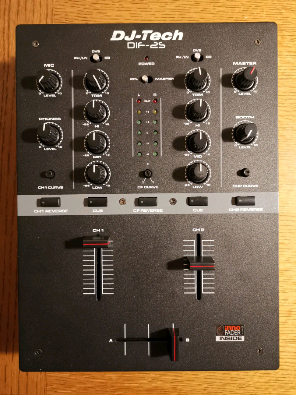 DJ Tech Dif-2S 2 Channel Scratch Mixer | in Stockport, Manchester | Gumtree