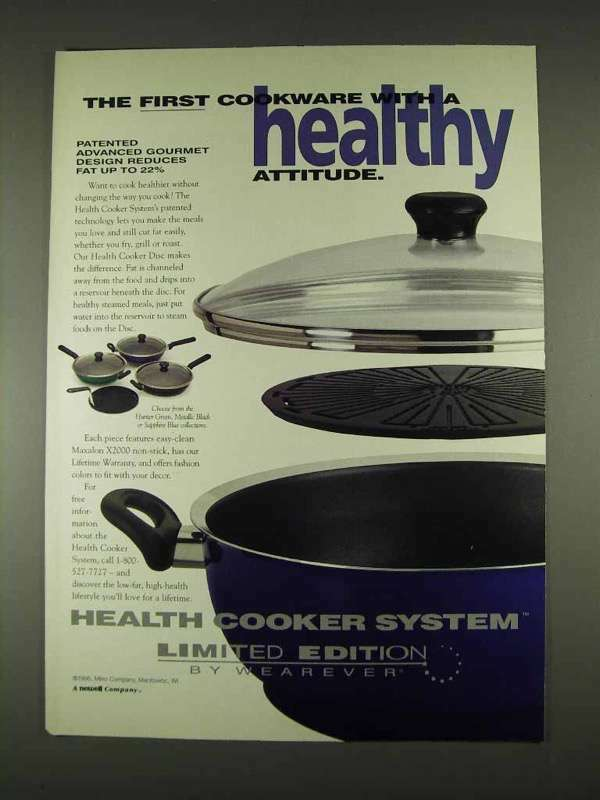 1996 Wearever Health Cooker System Ad