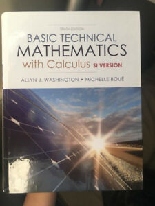 Engineering Technology Basic Technical Mathematics with Calculus