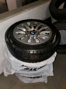 BMW Rims, All-season and Winters, 16 inch great condition