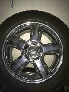 "Chevy LTZ 20"" Wheels w/ Bridgestone Dueler H/L 275/55/20"