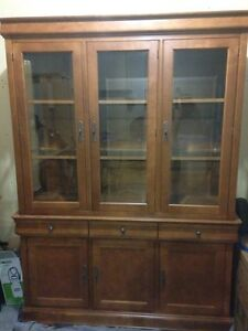Matching China Hutch and Cabinet, Tables and Chairs