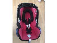 Maxi cosi/Maxi-cosi/maxicosi cabriofix red/black baby car seat