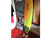 Brand new 6'8 Ron Jon Fishtail Surfboard- never used, comes with all accessories