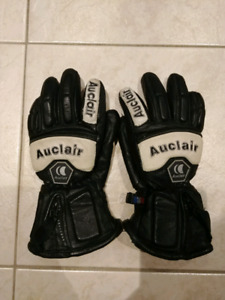 Auclair Youth Leather Ski Gloves