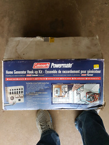 Generator home/camp hook up kit