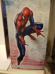 Sideshow Collectibles Spider Man Comiquette Statue Figure J Scot