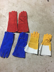 Medium and Large Welding Gloves - Mig&Tig Welding