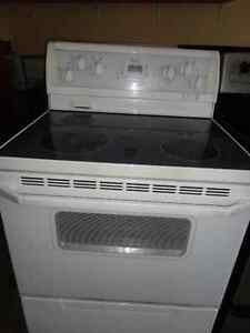 White Glass Stoves in Good Condition