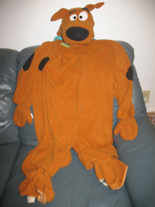 Scooby-Doo Dog Costume - Size 6-7