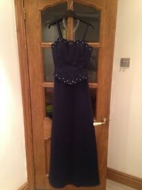 Prom/evening wear dress with matching shawl
