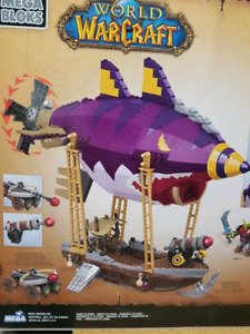 Mega Bloks World of Warcraft 91014 Goblin Zeppelin Ambush