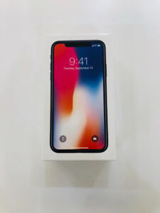 iPhone X 64GB Space Grey - Unopened - 50 days left for AppleCare