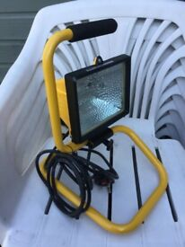Halogen portable work lamp