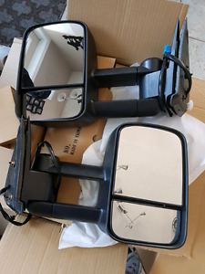 Fit up to 2007 GMC tow mirrors