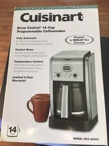 Brand New Cusinart 14-Cup Programmable Coffeemaker